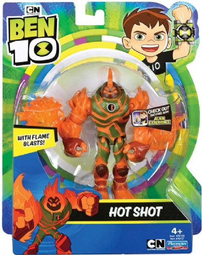 Ben 10 Action Figures -Hot Shot